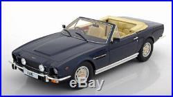 118 Cult Scale Aston Martin V8 Volante 1978 darkblue