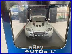118 Scale Autoart Aston Martin V12 Vantage BNIB never displayed 70206