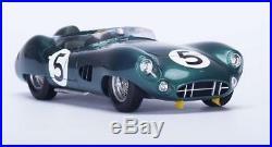 1959 Aston Martin DBR1 n. 5 Winner Le Mans in 118 Scale by Spark 18LM59