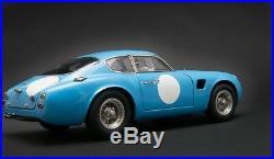 1961 Aston Martin DB4 GT Zagato blue CMC in 118 Scale M-140