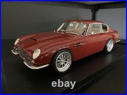 1964 Aston Martin DB6 Maroon 118 scale Custom Resin Cult Models 1 Of 1 Made
