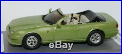 1/43 Scale Kit Built Resin Model Aston Martin Virage Convertible 1995 Green