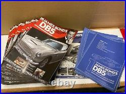 1/8 scale Eaglemoss Aston Martin DB5 James Bond 007 car kit spares or repair