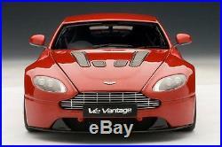 2010 ASTON MARTIN V12 VANTAGE RED 118 Scale AUTOart #70208 BRAND NEW IN BOX