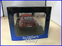 2010 Aston Martin V12 Vantage in Red in 118 Scale By Autoart 70208
