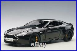 2015 Aston Martin V12 Vantage S in Jet Black in 118 Scale by AUTOart