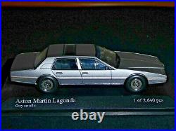 ASTON MARTIN LAGONDA 1982 SERIE 3 GREY MET. MINICHAMPS 400137800 Scale 1/43 LNIB