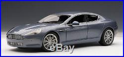 ASTON MARTIN RAPIDE in CONCOURS BLUE 118 Scale by AUTOart