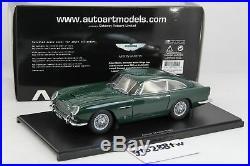 AUTOart 118 scale Aston Martin DB5 Racing Green(Upgrade Version) 70212
