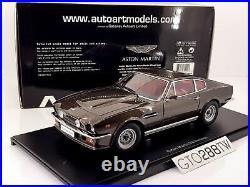 AUTOart 118 scale Aston Martin V8 Vantage 1985 007 Color(Cumberland Grey) 70221