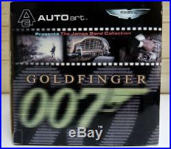 AUTOart 1/18 Scale Aston Martin DB5 With Weapons 007 Goldfinger James Bond