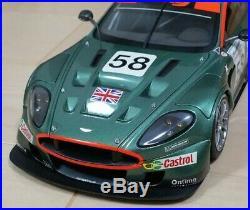 AUTOart 1/18scale vehicles model AstonMartin DBR9 24hrs LeMans 2005 color green