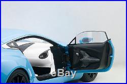AUTOart 70240 Aston Martin One-77, Tiffany Blue 118TH Scale