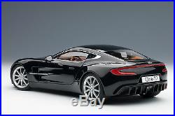 AUTOart 70241 Aston Martin One-77, Black Pearl 118TH Scale