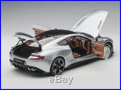 AUTOart 70272 Aston Martin Vanquish S 2017 Lightning Silver 118 Scale