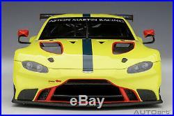 AUTOart 81807 Aston Martin Vantage GTE Le Mans Pro 2018 118 Scale