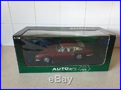 AUTOart ASTON MARTIN DB5 RED / RHD 1/18 SCALE MODEL CAR 70026