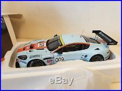 AUTOart / LE MANS ASTON MARTIN DBR9 GULF 1/18 SCALE MODEL 16799