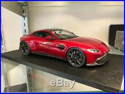 Aston Martin 118 Scale Model New Vantage Red
