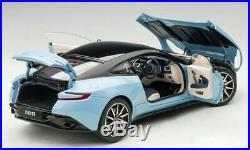 Aston Martin DB11 in Blue in 118 Scale by AUTOart 70268