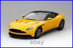Aston Martin DB11 in Sunburst Yellow 118 Scale by Topspeed