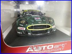 Aston Martin DBR9 118 Scale Green AUTOart Motorsport