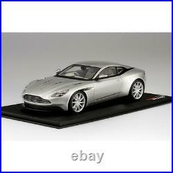 Aston Martin Db11 Lightning Silver Top Speed TRUE SCALE MINIATURES 118 TS0126 M