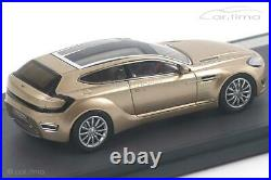 Aston Martin Jet 2 Bertone 2013 gold 1 of 408 Matrix Scale Models 143