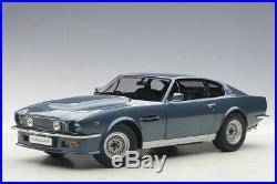 Aston Martin V8 Vantage (1985) in Chichester Blue (118 scale by AUTOart 70223)