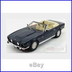 Aston Martin V8 Volante Cabriolet 1978 Blue Met CULT SCALE MODELS 118 CML032-1