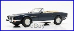 Aston Martin V8 Volante blue metallic 1978 118 Cult Scale Models
