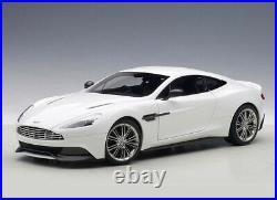Aston Martin Vanquish (2015) in Glossy White (118 scale by AUTOart 70250)