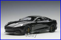 Aston Martin Vanquish S (2017) in Onyx Black (118 scale by AUTOart 70271)