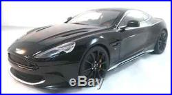 Aston Martin Vanquish S Onyx Black Composite and Diecast 118 Scale by AUTOart