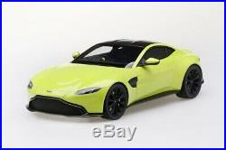 Aston Martin Vantage in Lime Essence in 118 Scale by Topspeed