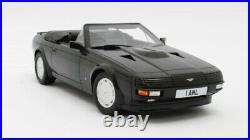 Aston Martin Zagato Spyder black 1987 118 Cult Scale Models