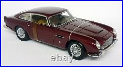 Autoart 1/18 Scale 70026 Aston Martin DB5 RHD Metallic Red Diecast Model Car