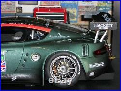 Autoart 1/18 Scale 80506 Aston Martin DBR9 24H LeMans 2005 #58 Enge Kox Lamy