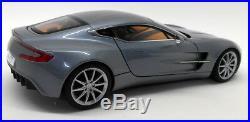 Autoart 1/18 Scale Diecast 70243 Aston Martin One-77 Villa D'Este Blue Model car