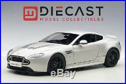 Autoart 70251 Aston Martin V12 Vantage S 2015, Meteorite Silver 118th Scale