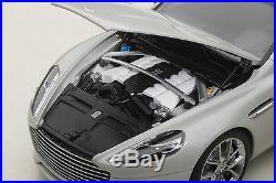Autoart 70258 Aston Martin Rapide S 2015, Silver Fox 118th Scale