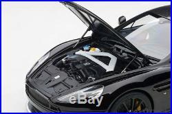 Autoart 70271 Aston Martin Vanquish S 2017 (onyx Black) 118th Scale