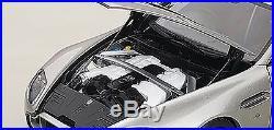 Autoart ASTON MARTIN V12 VANTAGE S 2015 METEORITE SILVER 1/18 Scale New In Stock