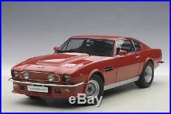 Autoart ASTON MARTIN V8 VANTAGE 1985 SUFFOLK RED in 1/18 Scale New! In Stock