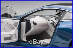 Autoart ASTON MARTIN VANQUISH S 2017 MING BLUE 1/18 Scale New Release! In Stock