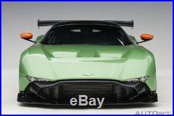 Autoart ASTON MARTIN VULCAN APPLE TREE GREEN METALLIC 1/18 Scale In Stock