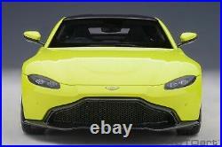 Autoart Aston Martin Vantage 2019 Lime Essence in 1/18 Scale. New Release