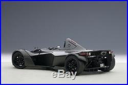 Autoart BAC MONO METALLIC BLACK COMPOSITE Model 1/18 Scale New Release In Stock