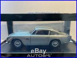 Autoart Millennium Aston Martin DB5 118 scale 70211 RARE NEW