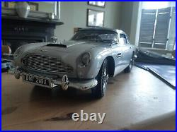 Build Your Own Eaglemoss 007 James Bond Goldfinger Aston Martin DB5 18 scale